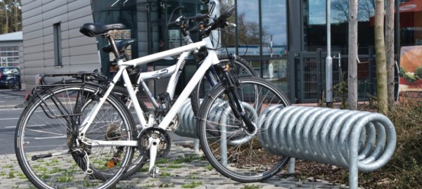 Produkt des Monats März: Spiral-Fahrradständer Omega