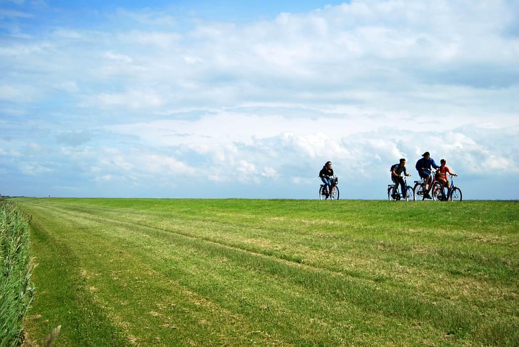 Fahrradtour Langeoog - Marlies Eggers