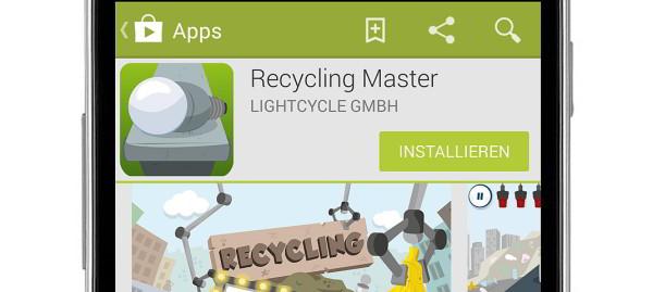 """Mit Lern-App """"Recycling Master"""" spielerisch die Umwelt retten!"""