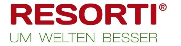 Das aktuelle RESORTI Logo