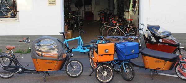 Passt ein Lastenfahrrad in eine Fahrradgarage?