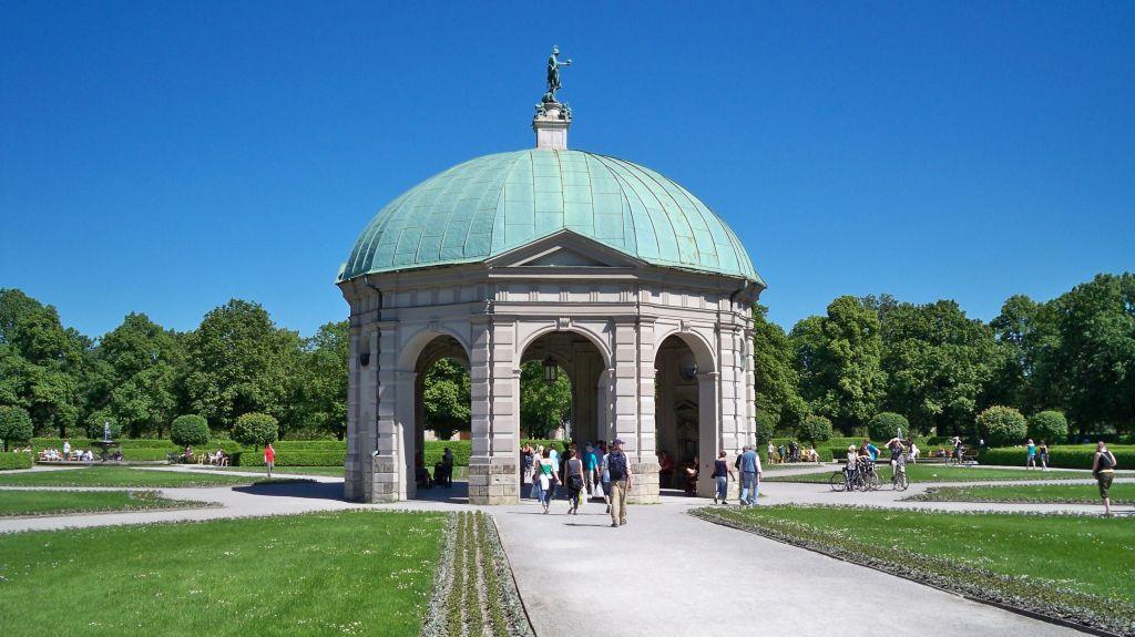 Englischer Garten München - Mülltrennung in Bayern