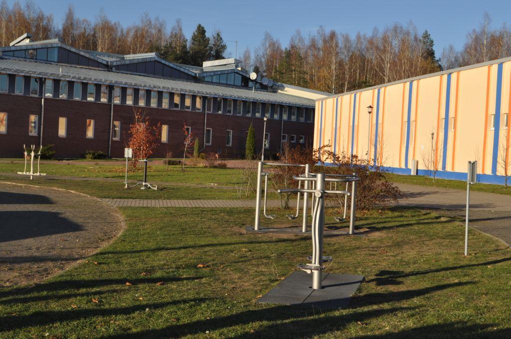 Montierte Geräte im Kinder- und Jugendzentrum Nadeshda bei Minsk. Copyright: Janina Keilich