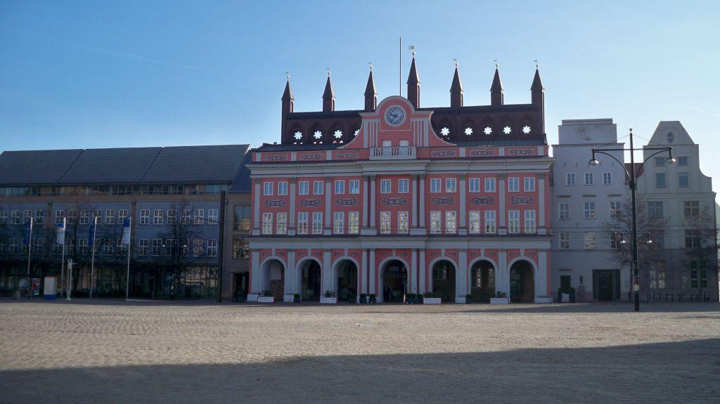 Neuer Markt Rostock - Mülltrennung in MVP