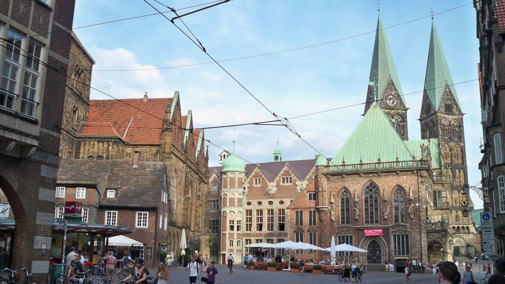 Rathausplatz Bremen - Mülltrennung Bremen