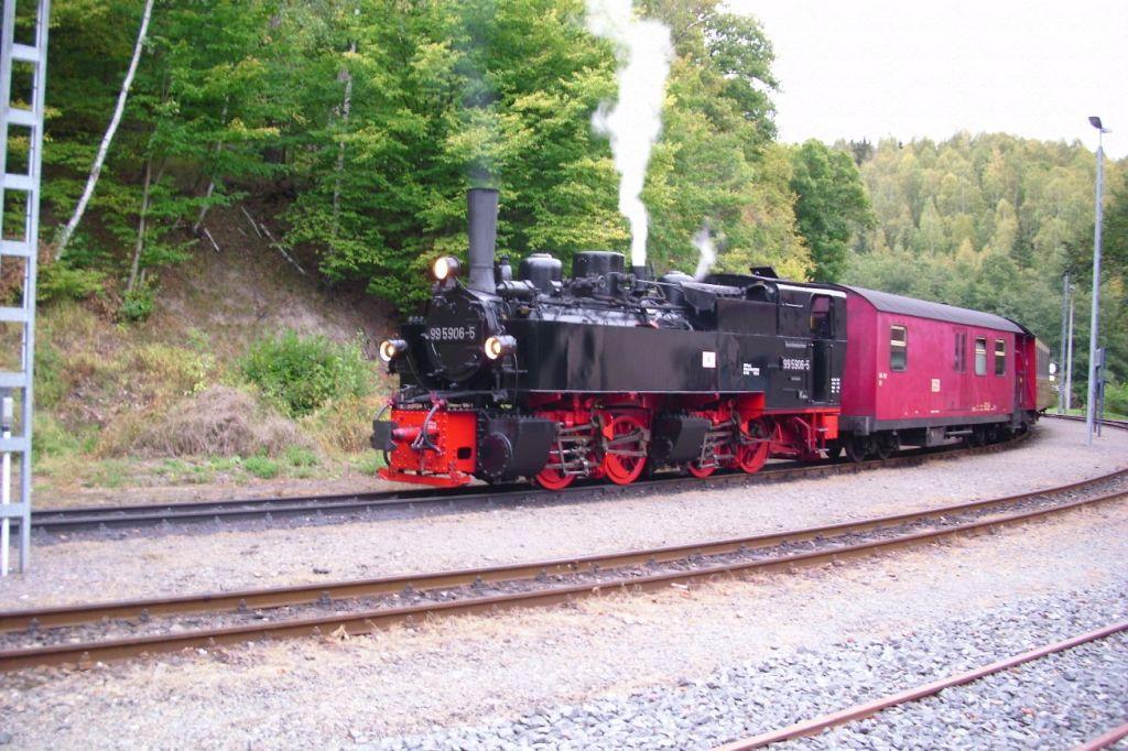 Selketalbahn -Mülltrennung in Sachsen-Anhalt