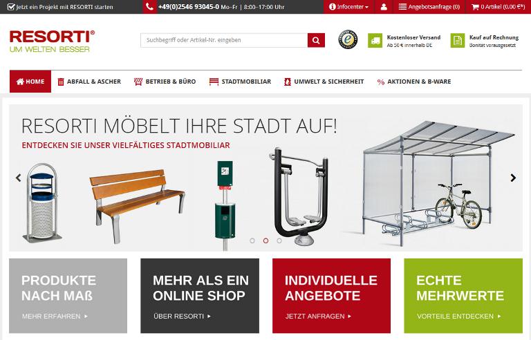 Relaunch 2015: www.resorti.de erstrahlt im neuen Glanz