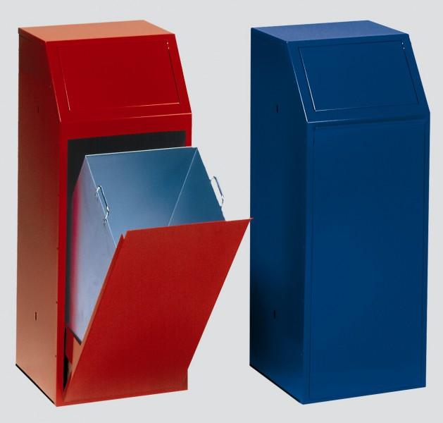 Wertstoffsammler gehören zur Ausstattung von Berufsschulen (c) RESORTI
