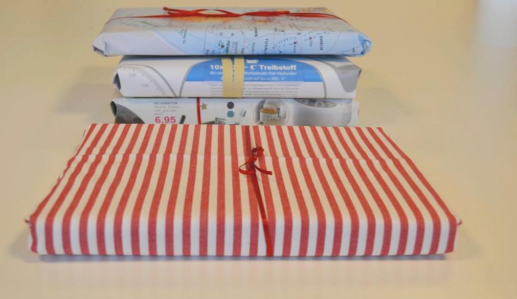 Geschenkverpackung aus Stoff - RESORTI Blog