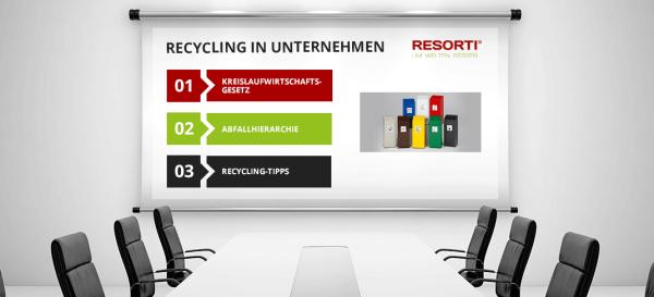 Warum sich Recycling in Unternehmen lohnt