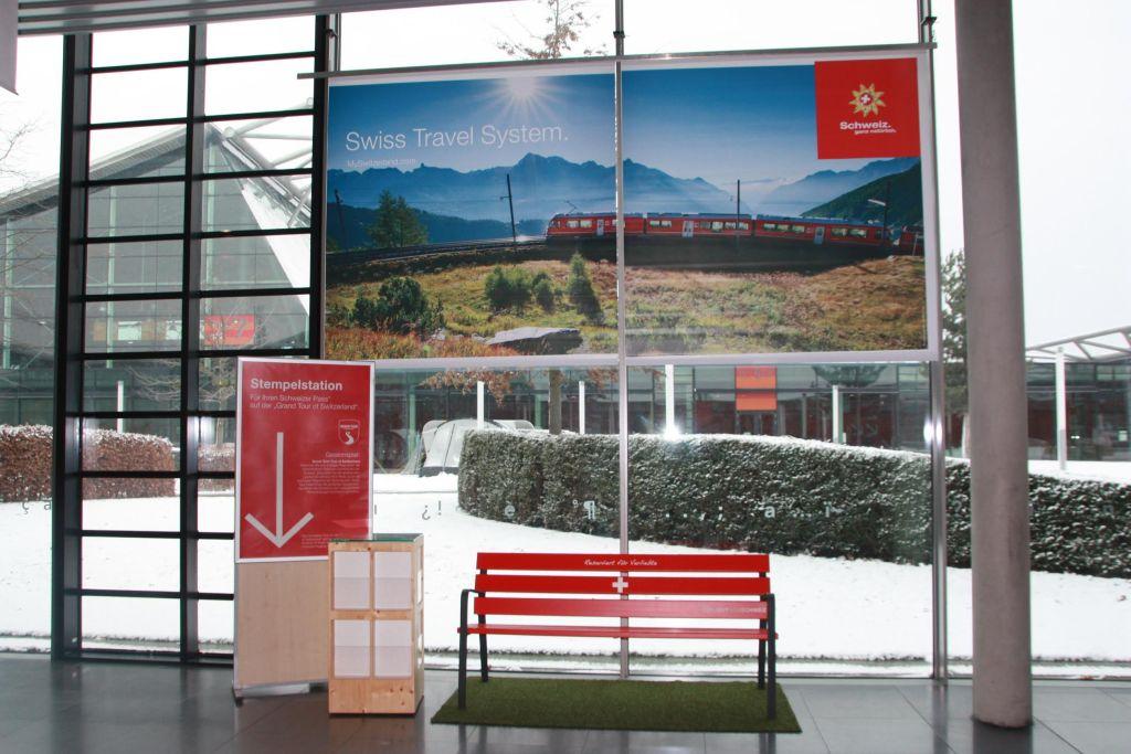 Messestand der CMT von Schweiz Tourismus