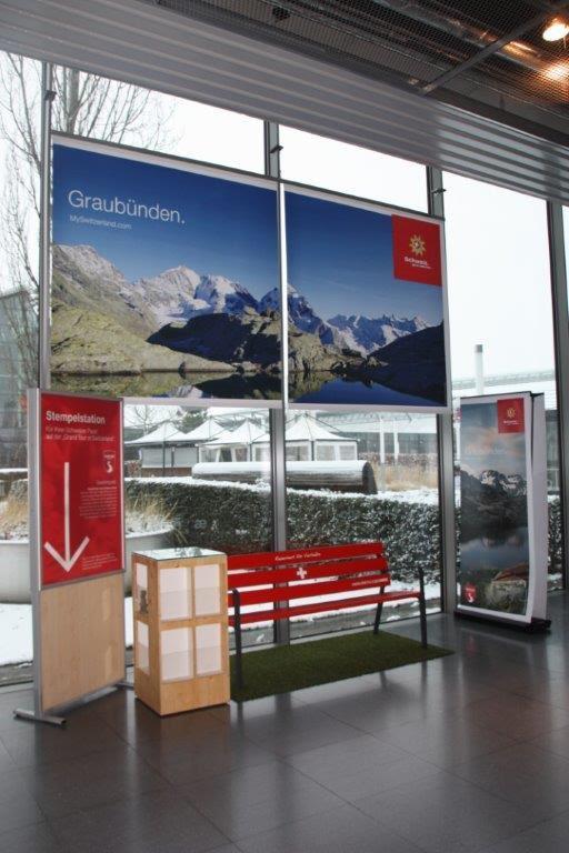 RESORTI Messebank für Schweiz Tourismus auf der CMT 2016