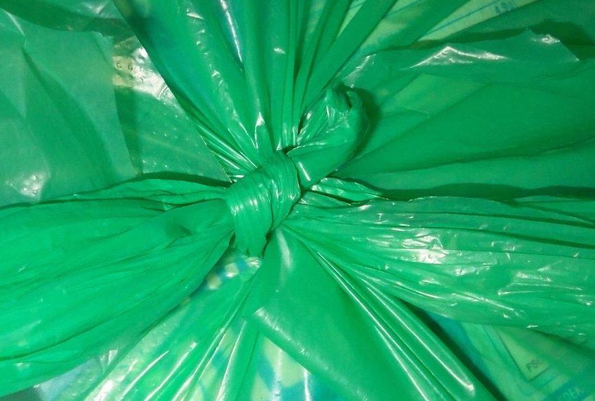 Fest verschlossene Mülltüte © resorti.de