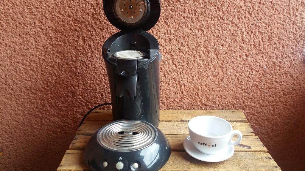 Die Kaffeepads können kompostiert werden