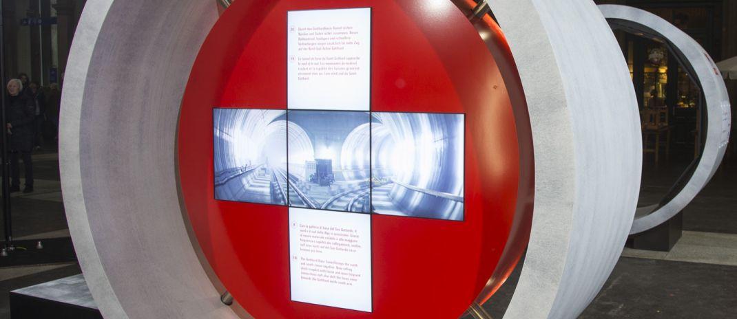 Gotthard Tunnel Ausstellung
