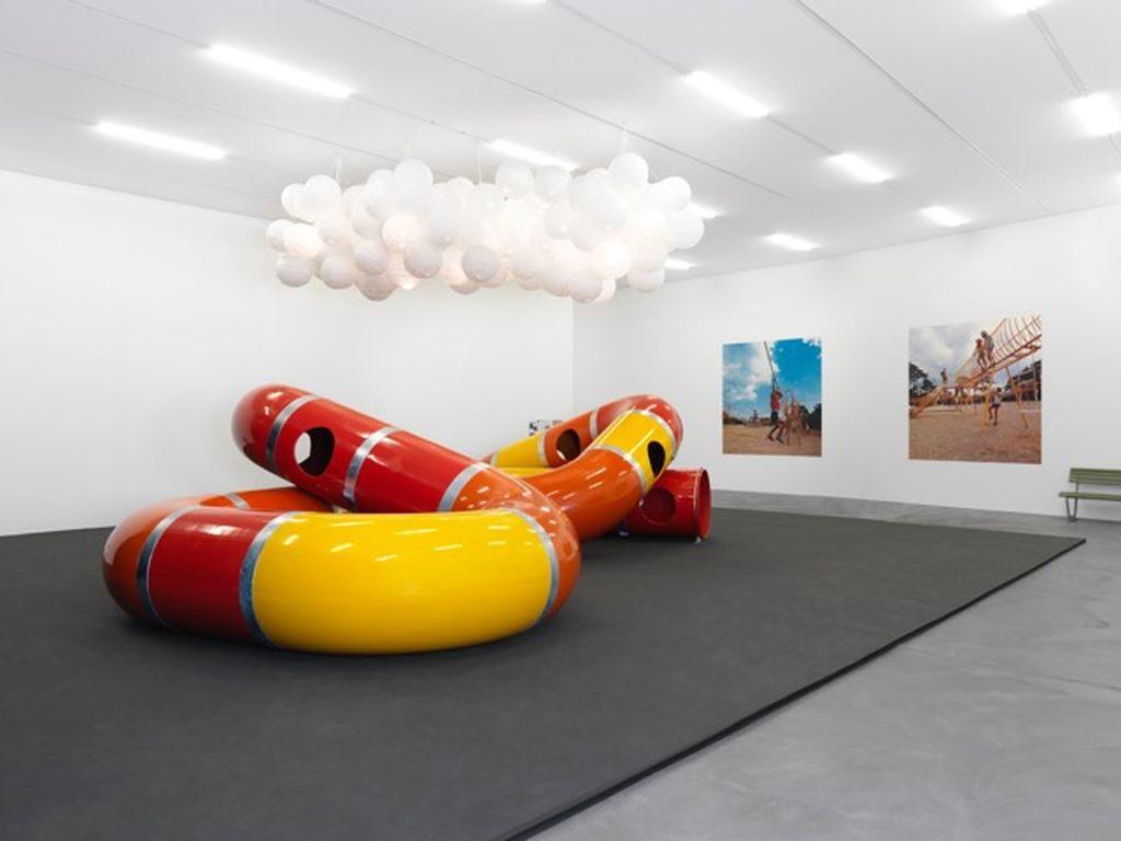 Ein berühmtes Ausstellungsstück des Playground Projects: der Lozziwurm