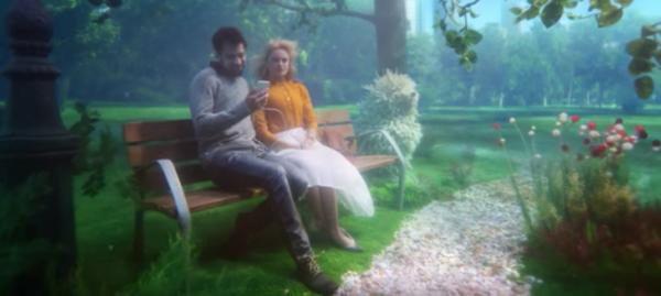 Screenshot O2 Werbung