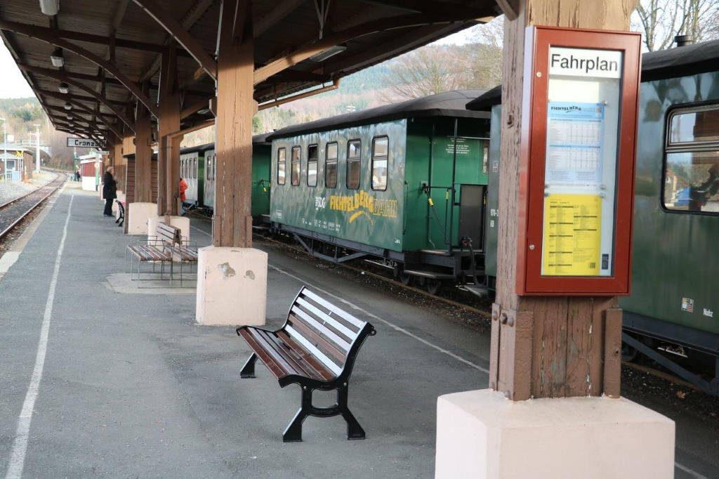 Bild Bahnhof Cranzahl