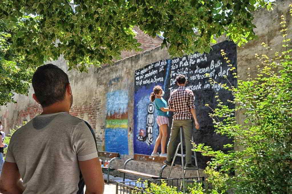 "DIY Stadtanleitung Wien: Projekt ""Mauerkunst"""