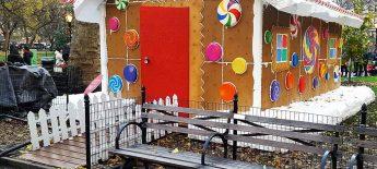 Bänke weltweit #12: Lebkuchenhaus im Madison Square Park New York