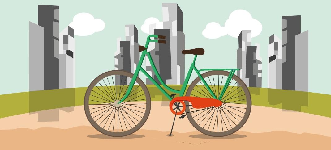 bild von fahrrad in der Stadt - RESORTI Blog