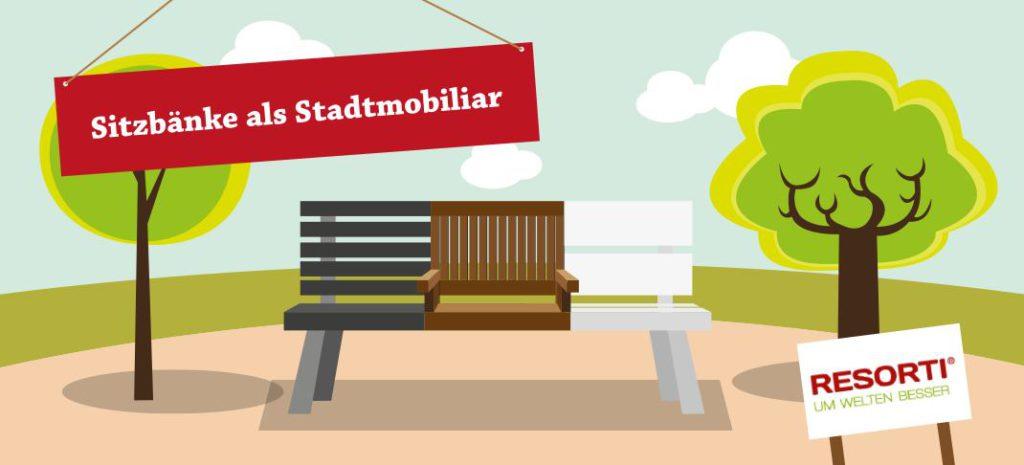 ... Sitzbänke Am Spielplatz Oder In Der Fußgängerzone U2013 Stadtmobiliar Trägt  Dazu Bei, Dass Besucher, Einwohner Und Touristen Sich Im öffentlichen Raum  ...