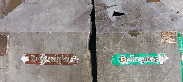 Altglasentsorgung und Glasrecycling - welches Glas gehört in welchen Container?