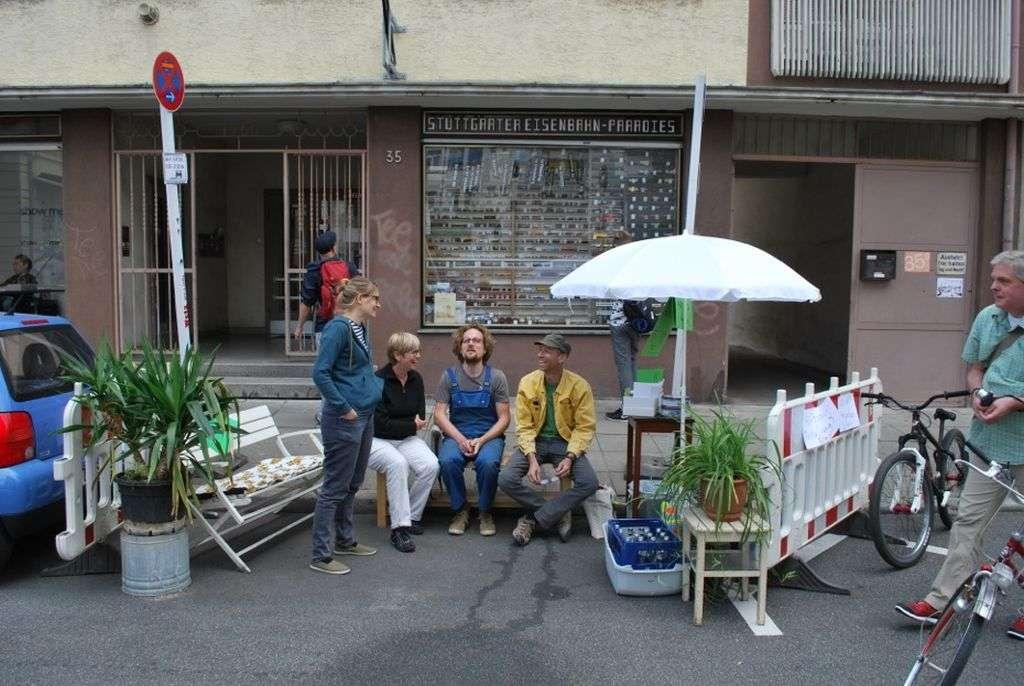 Bild vom Parking Day Stuttgart - RESORTI Blog