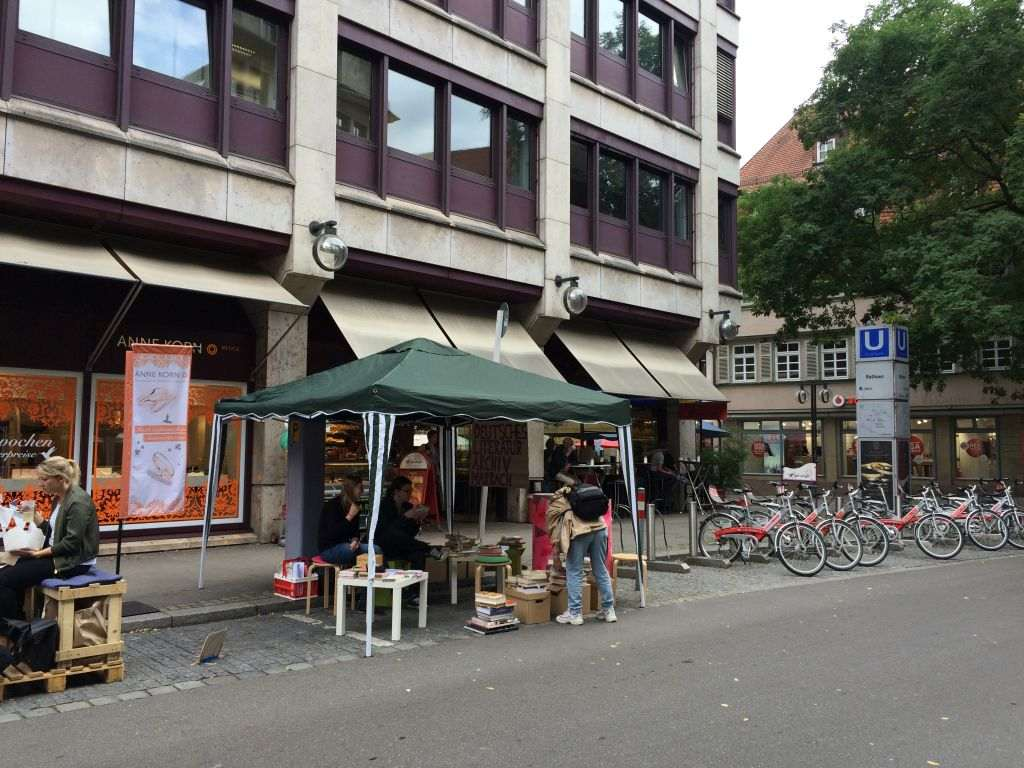Bild vom Parking Day Stuttgart - RESORTI Blog