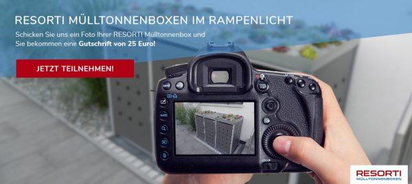 Fotowettbewerb - Zeigen Sie uns Ihre Mülltonnenboxen!