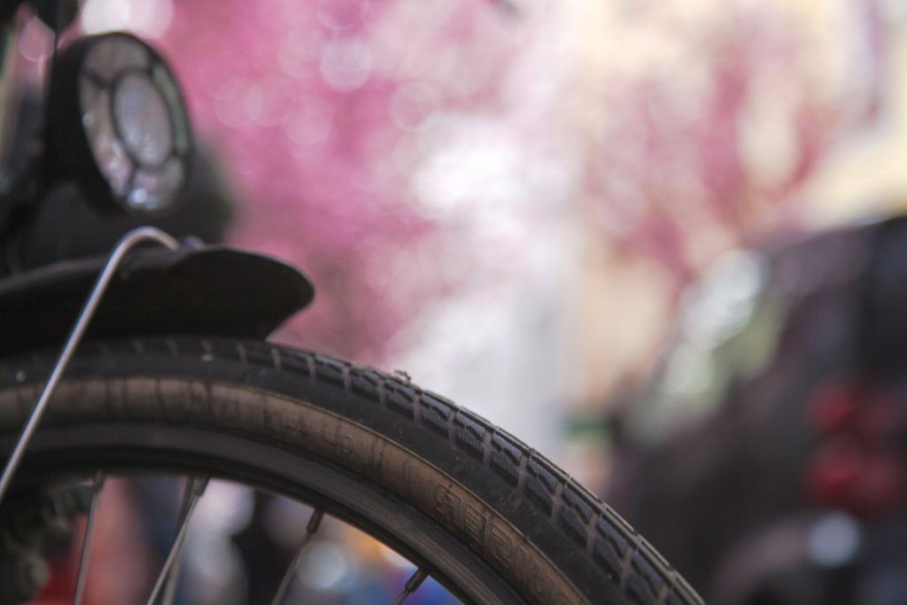 Vorderreifen eines Fahrrads - RESORTI blog