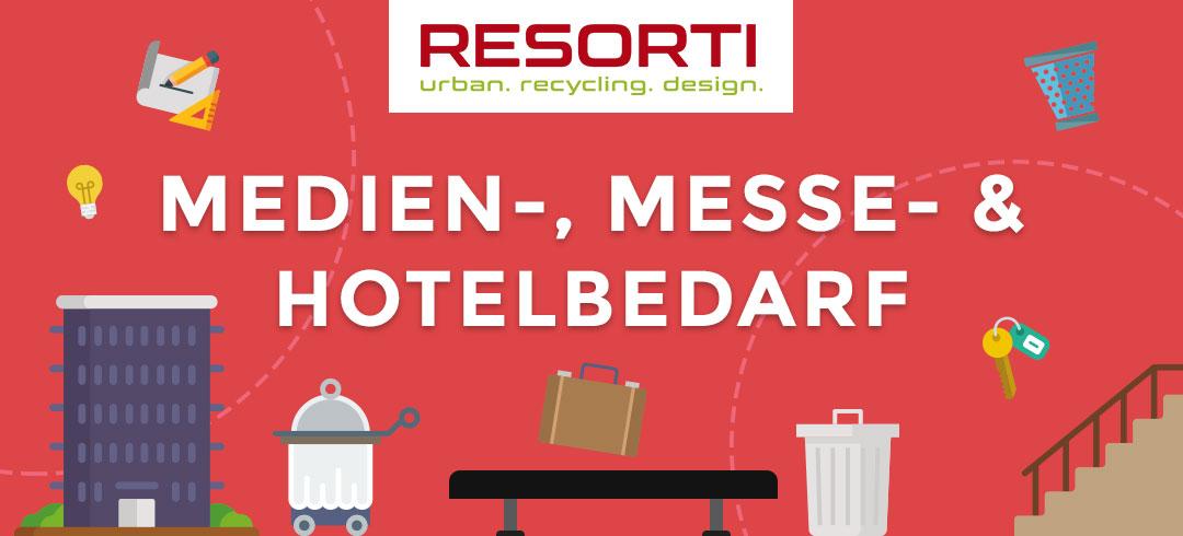Medien-, Messe- und Hotelbedarf von RESORTI