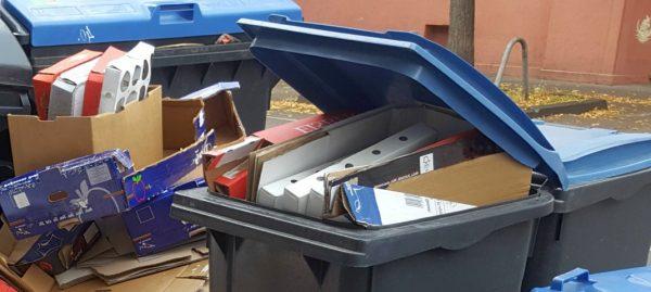 Überquellende Mülltonne - RESORTI-Blog
