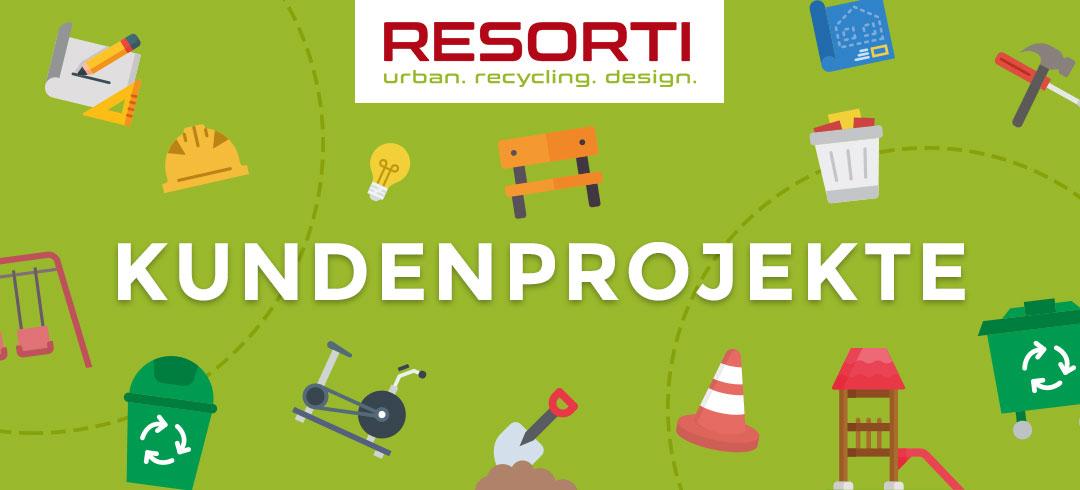 Kundenprojekte von RESORTI