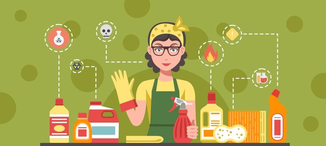 Reinigungsmittel, Putzmittel und Haushaltschemikalien entsorgen - RESORTI-Blog