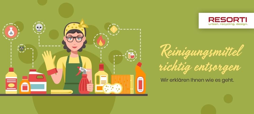 Reinigungsmittel richtig entsorgen - RESORTI-Blog