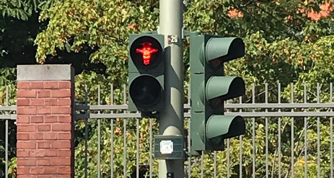 Ost-Ampelmännchen rot - RESORTI-Blog
