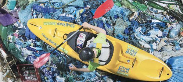 Clean River Project: Paddeln und Fotokunst für saubere Flüsse und Meere