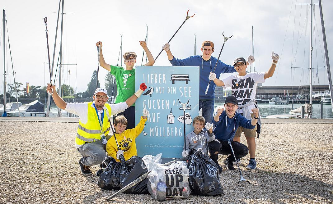 Lieber auf den See gucken als auf den Müllberg - World CleanUp Day - RESORTI-Blog