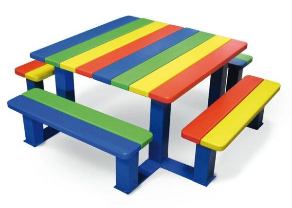 Bank-Tisch Kombination für Kinder