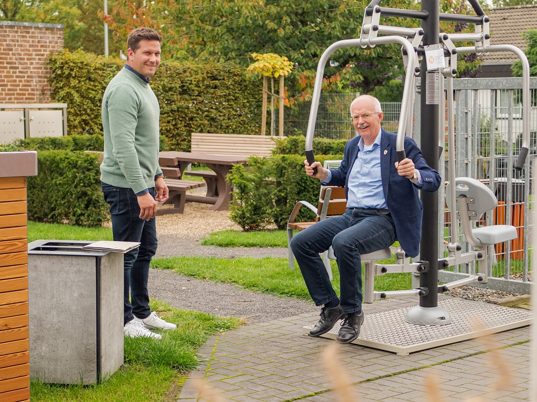 Bürgermeister Öhmann zu Besuch bei RESORTI