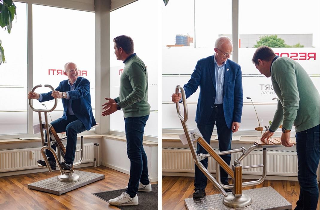 Bürgermeister Öhmann Outdoor Fitnessgeräte