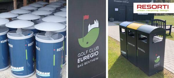 Individuelle Abfalllösungen für den Golfclub in Bad Bentheim