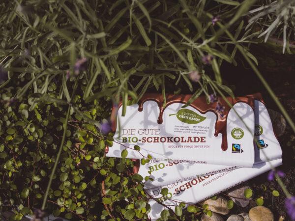 Plant for the Planet Schoki. Foto: Resorti.de