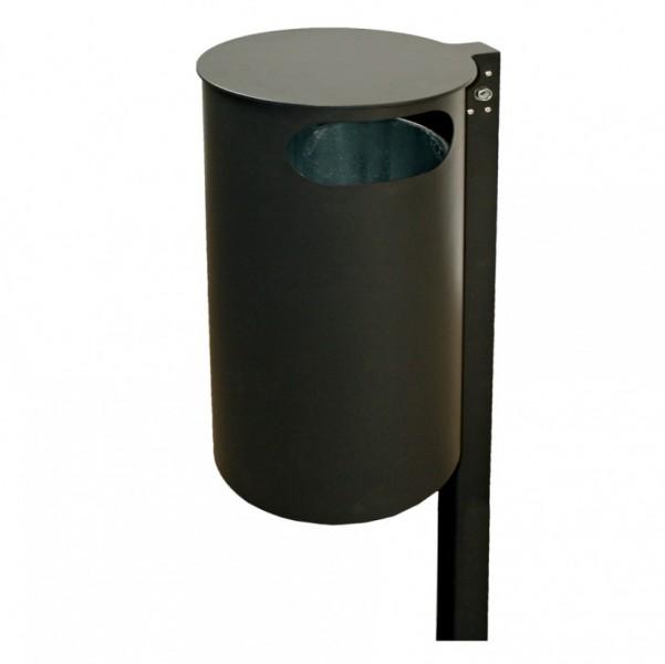 abfallbeh lter mit pfosten 60 liter. Black Bedroom Furniture Sets. Home Design Ideas