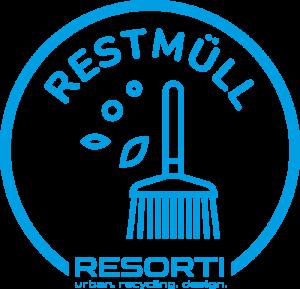 Vorschau: Aufkleber transparent für Mülltrennung (Papier, Glas, Rest- und Biomüll, Verpackungen)