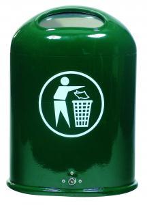Vorschau: Abfallbehälter mit Federklappe