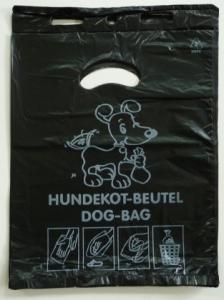 Vorschau: Hundekotbeutel schwarz