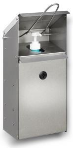 Vorschau: Desinfektionsspender HDS Edelstahl zur Wandmontage