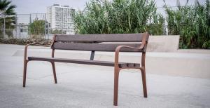 Vorschau: Parkbank Citizen Eco aus Recycling-Kunststoff